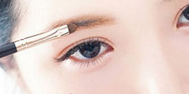 一字眉毛的画法详细图解