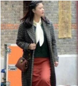 蒋欣瘦成筷子腿,被赞本人又高又瘦,她退出微胖界的秘诀是这个