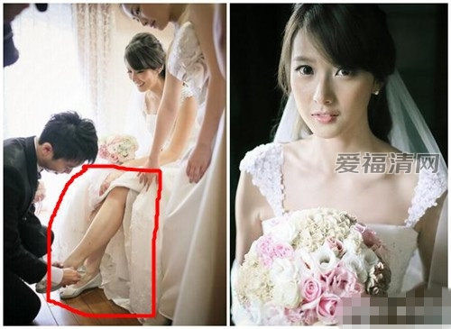 台湾超美的美女医生王彦文步入了婚姻的殿堂