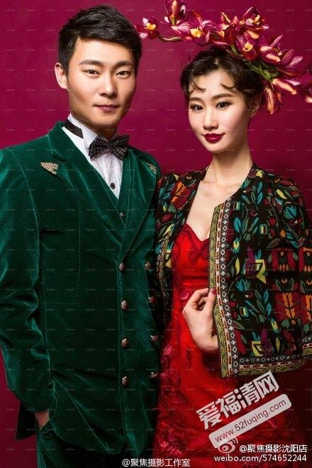 巩汉林儿子巩天阔个人资料老婆结婚照图片