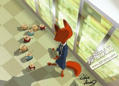 3月4日上映的迪士尼动画电影《疯狂动物城》至