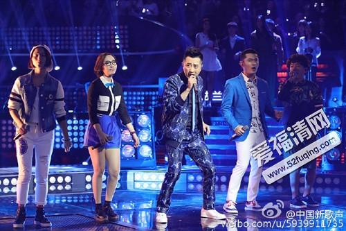中国新歌声哈林五强学员《白天不懂夜的黑》视频图片
