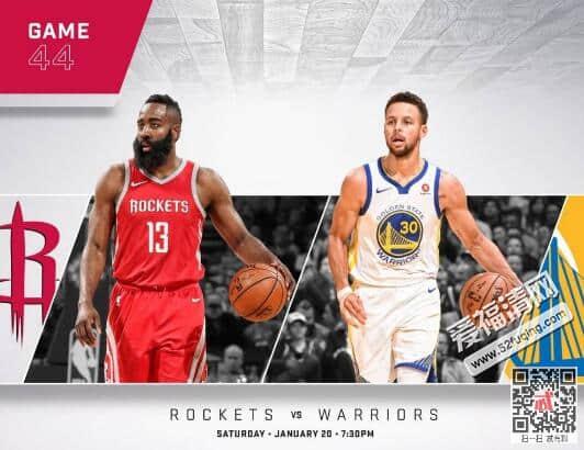 2018年1月21日NBA火箭vs勇士录像视频回放 保罗33分火箭116-108战胜勇士
