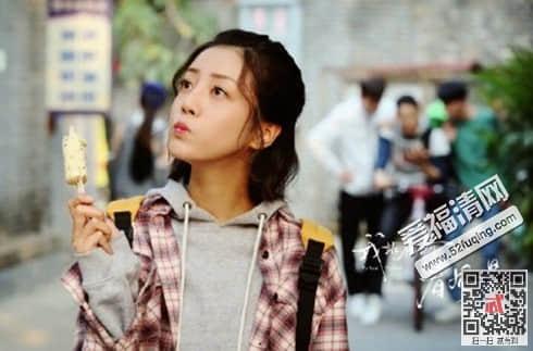 《我站在桥上看风景》改编自顾西爵的热门小说ip,年轻演员李溪芮饰演