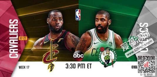 2018年2月12日NBA凯尔特人vs骑士录像视频回放 骑士121-99大胜凯尔特人