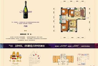 3室2厅2卫  123平米