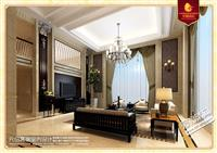 【福清装修案例|元创设计】福清奎岭别墅简约欧式风格设计
