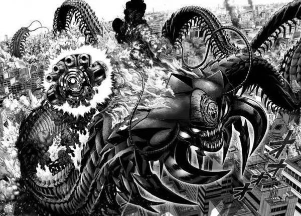 一拳超人中最强怪人战斗力排行榜,波罗斯和饿狼进不了前三名,第一名都能使琦玉受重伤