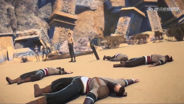 斗破苍穹第10集:焚决的正确修炼方式是把头埋在沙漠里面摩擦?