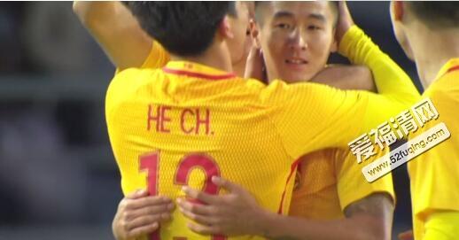 2017年12月9日东亚杯中国男足vs韩国录像全场视频回放 国足2-2战平韩国