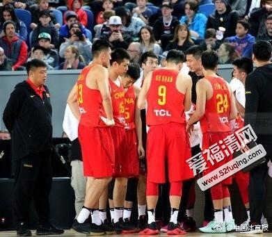 2017年8月11日男篮亚洲杯中国男篮蓝队vs卡塔尔男篮全场录像视频回放 中国男篮92-66卡塔尔