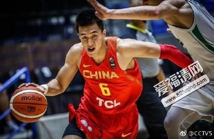 2017年8月13日男篮亚洲杯中国男篮蓝队vs伊拉克男篮全场录像视频回放 中国队61:60险胜伊拉克队