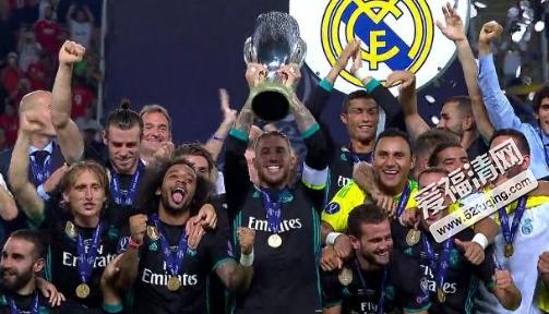 2017年8月9日欧洲超级杯皇马vs曼联全场录像视频回放 皇马2-1曼联
