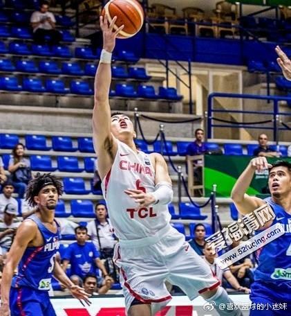 2017年8月9日男篮亚洲杯中国男篮vs菲律宾男篮录像视频回放 中国蓝队87-96不敌菲律宾