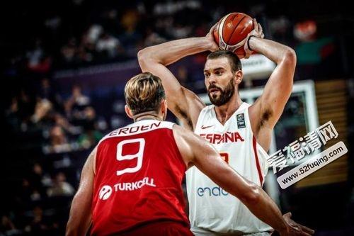2017年9月12日男篮欧锦赛1/4决赛西班牙vs德国全场录像视频回放