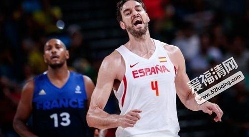 2017年9月5日男篮欧锦赛西班牙男篮vs克罗地亚男篮全场录像视频回放