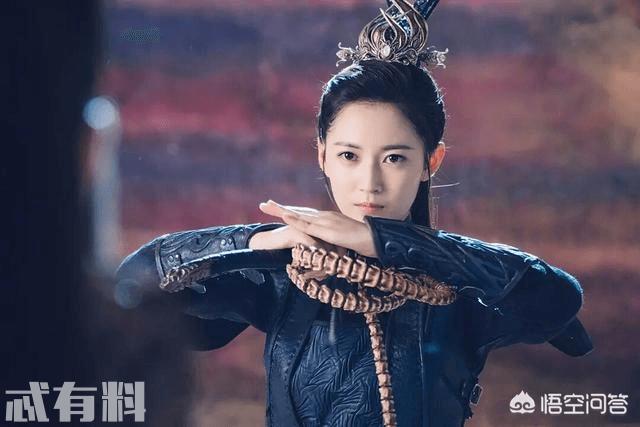 《香蜜沉沉烬如霜》陈钰琪饰演的卞城公主 高马尾显的格外英气