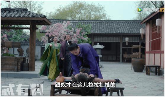 盛唐幻夜:吴倩把穆乐强按在桌上,动作让人想入非非,太污了!
