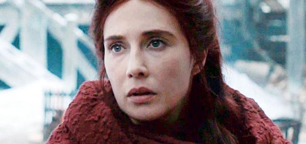 权力的游戏第八季梅丽珊卓完成了光之王的使命,最终随光之王而去