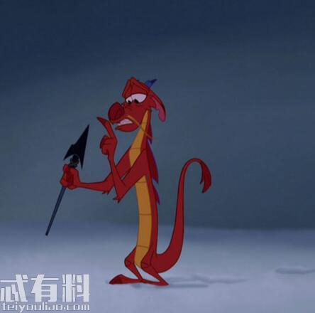 电影花木兰木须龙是什么东西 凤凰取代了木须龙是真的吗